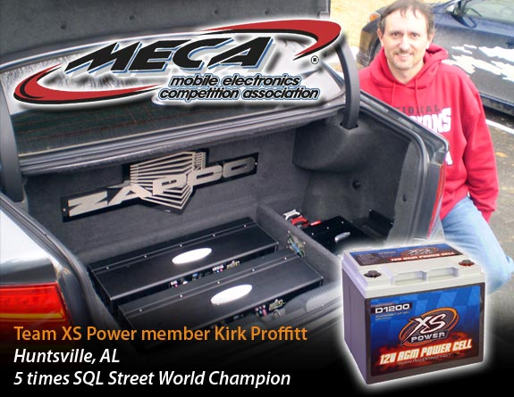 Kirk Proffitt with his winning system