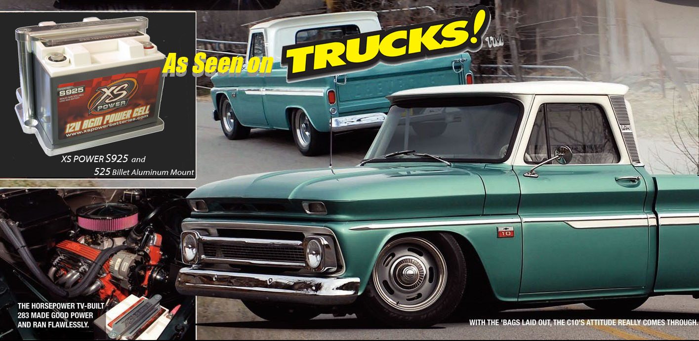 completed on a 1966 Chevy C-10