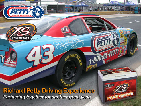 XS Power, Richard Petty Driving Experience