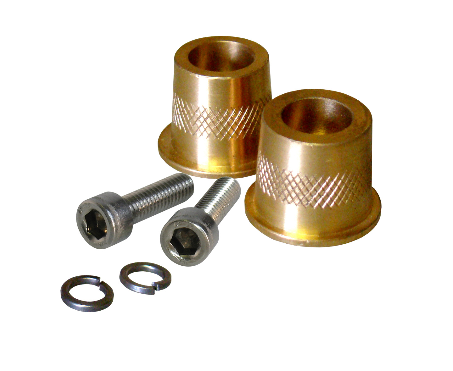 XS Power 580 Brass Battery Terminal Post Adapters For Cars