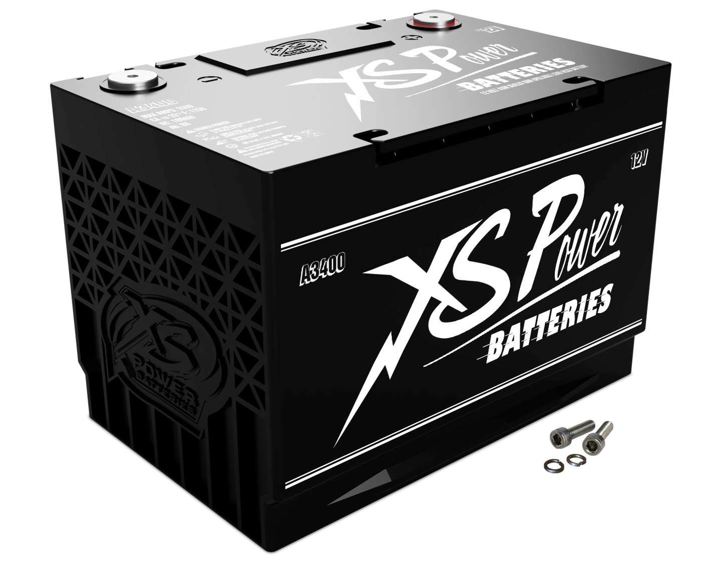 XS Power A3400 Starting Battery 12V 3300 Amps For Universal Fit