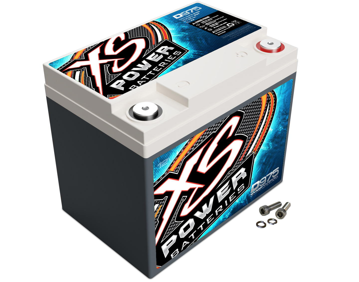 XS Power D975 Battery 12V Deep Cycle/Starting 604 Cranking Amps For Cars