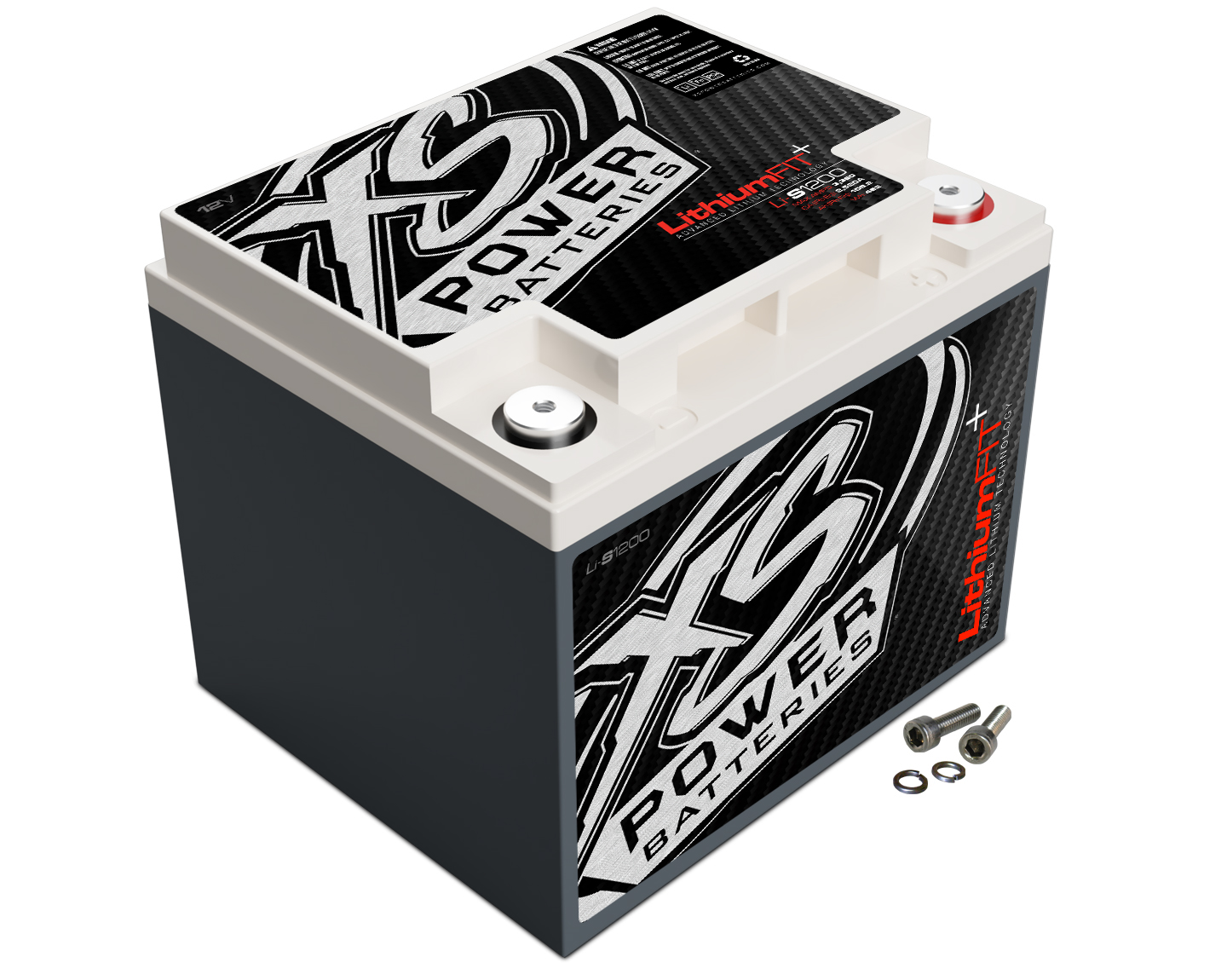 XS Power LI-S1200 12V 36.4 Amp Hours 7000 Watts Lithium Racing Battery For Cars