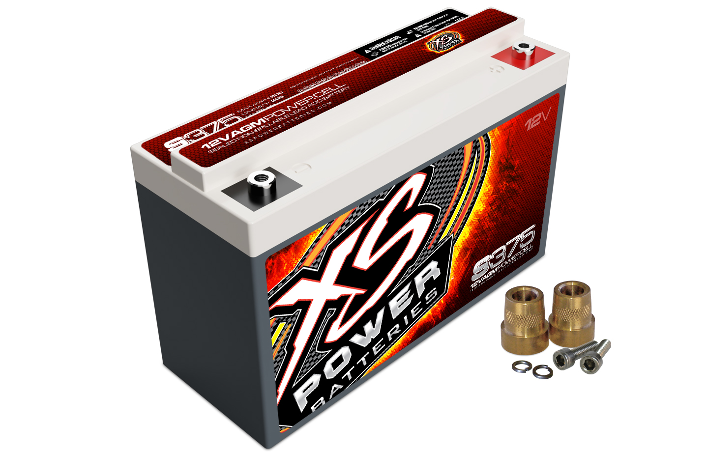 XS Power S375 Battery Max Amps 800A 190 CA For Cars