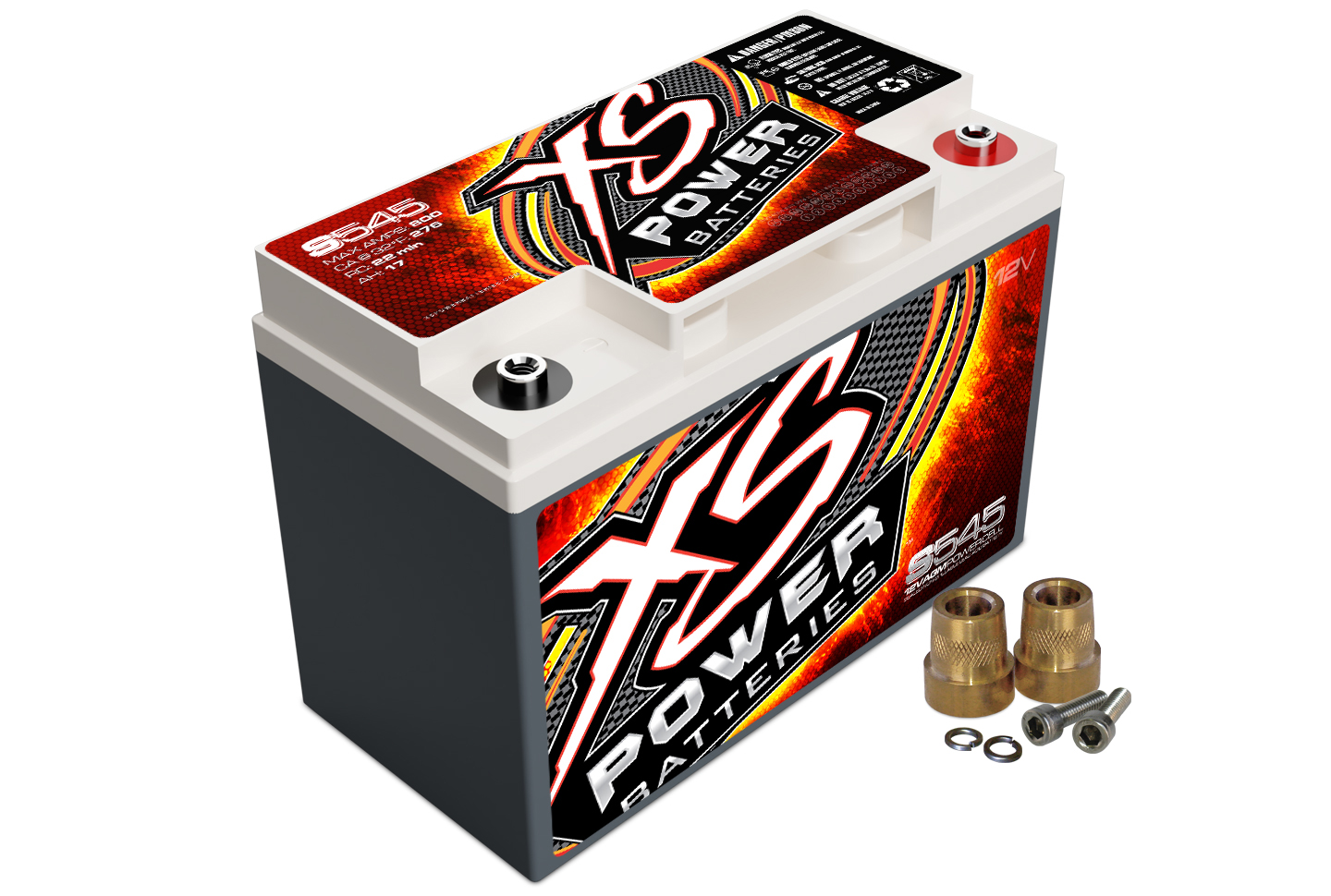 XS Power S545 Battery Max Amps 800A 240 CA For Cars