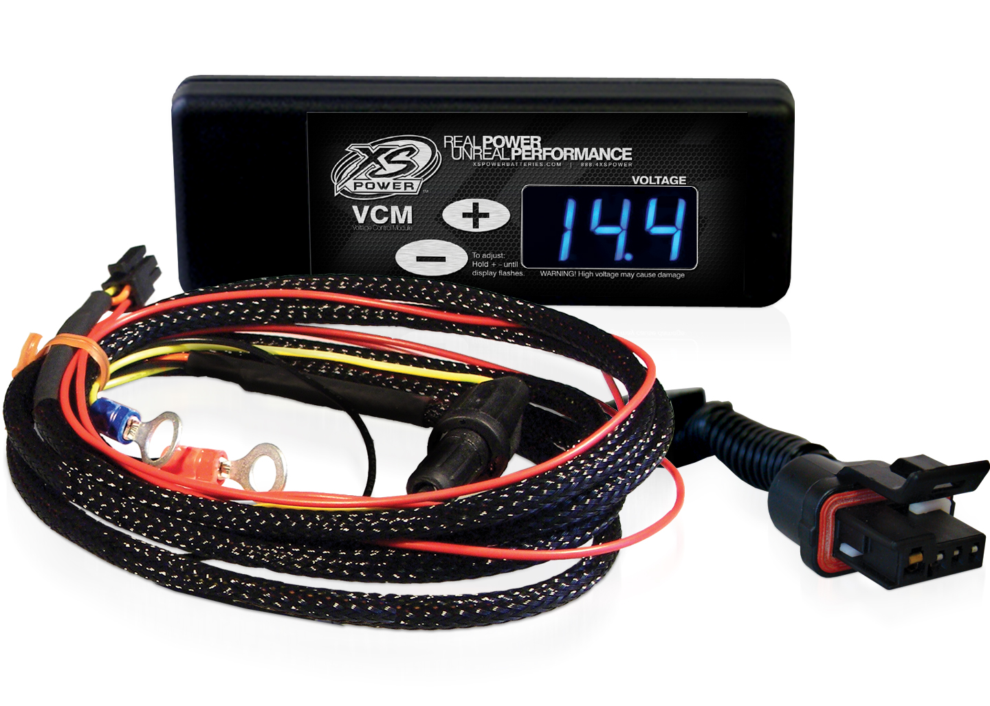 """XS Power XSP320-312 Controller and Harness for 86-97 GM """"CS"""" Series Alternators"""